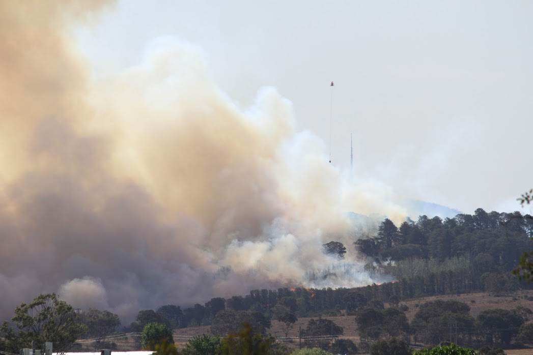 AWS outage cripples ACT Emergency Services Agency website as Canberra bushfire rages