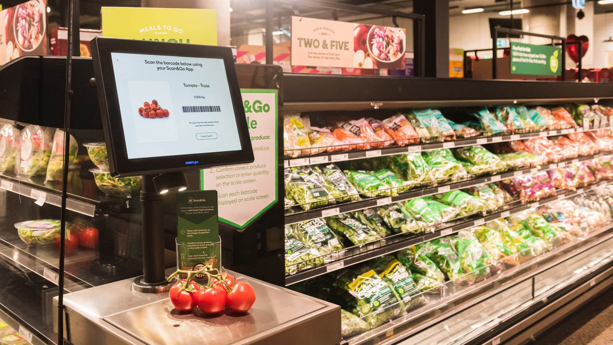 Woolworths uses AI to recognise fruit and veg purchases