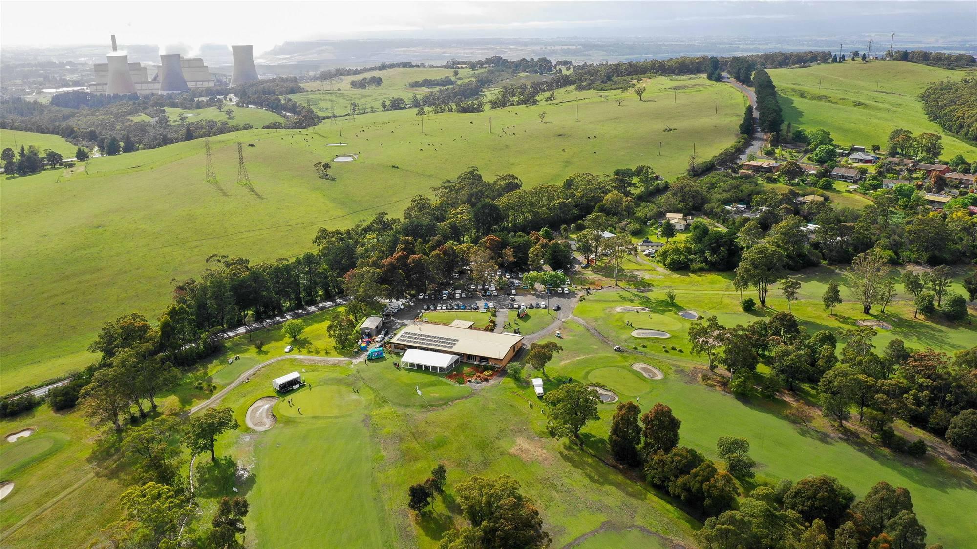 Yallourn Golf Club.