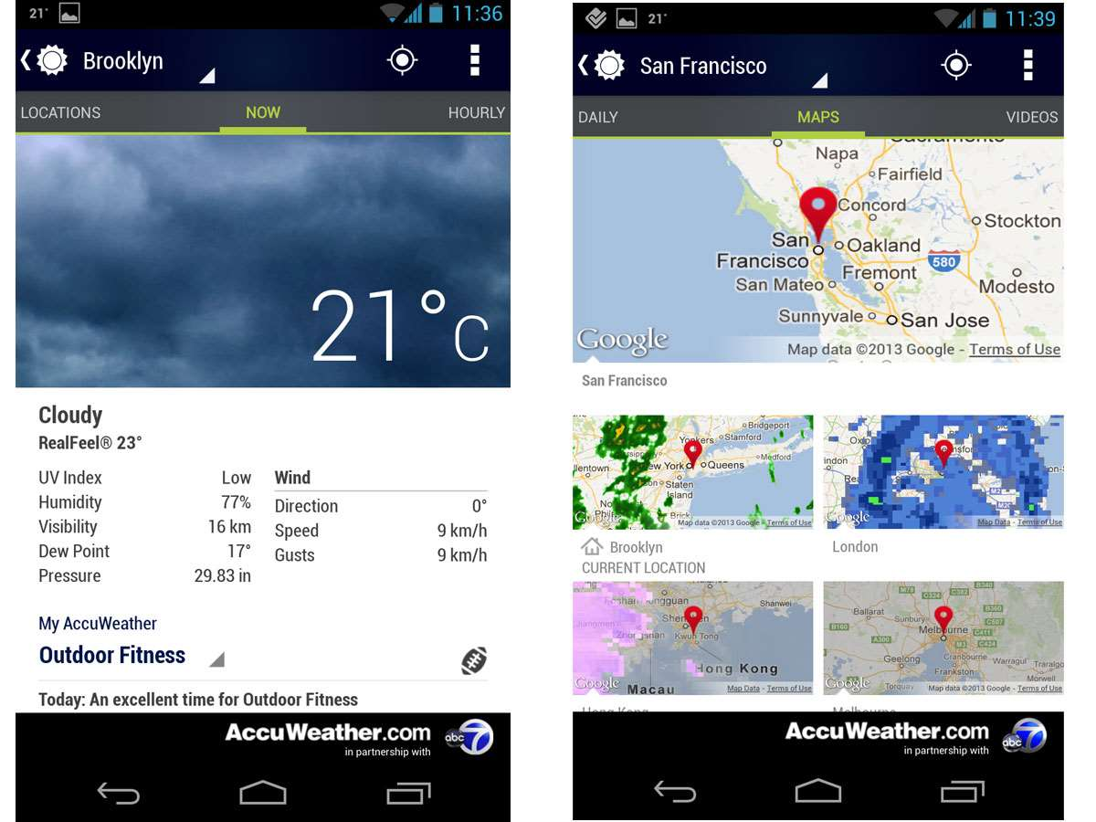 Of The Best Weather Apps Stuff Apps PC Tech Authority - Accuweather brooklyn