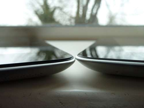 Apple new iPad 3 2012 review – iPad 2 side by side