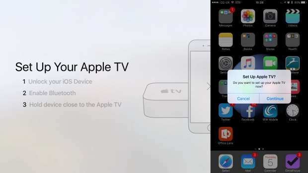 Pair iphone with tv