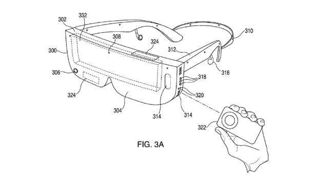 Apple VR Headset with Remote