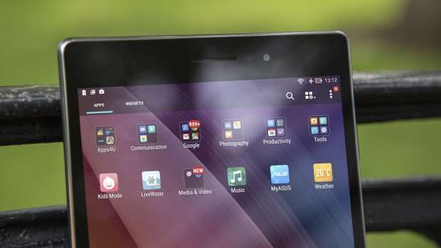 Asus ZenPad 8.0 review: Front, top half