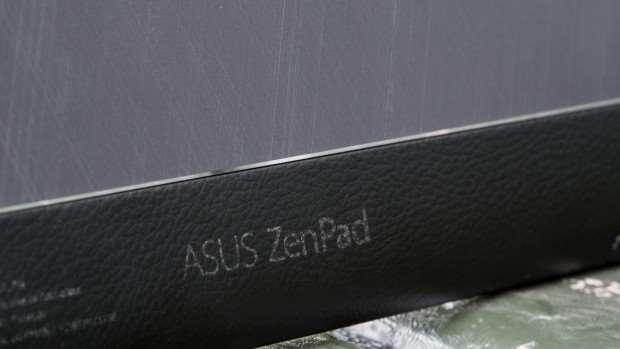 Asus ZenPad 8.0 review: Faux leather strip