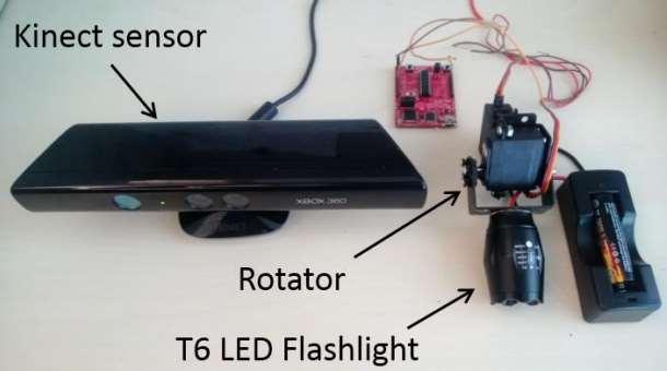 Microsoft Autocharge Prototype Kinect