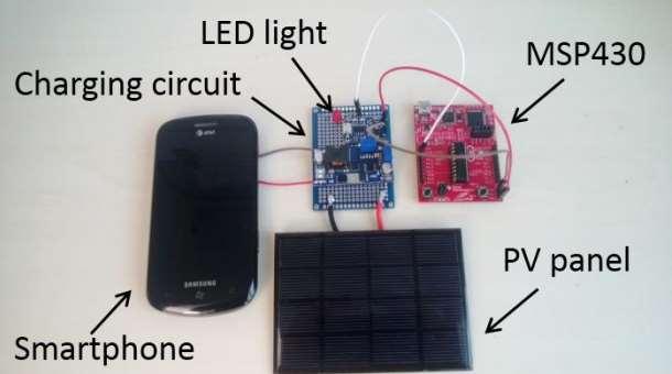 Microsoft Autocharge Prototype Smartphone kit
