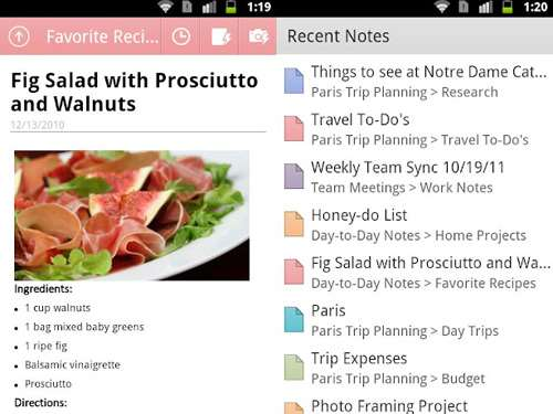 best android apps onenote mobile