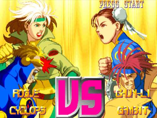 best superhero games ever x-men vs street fighter