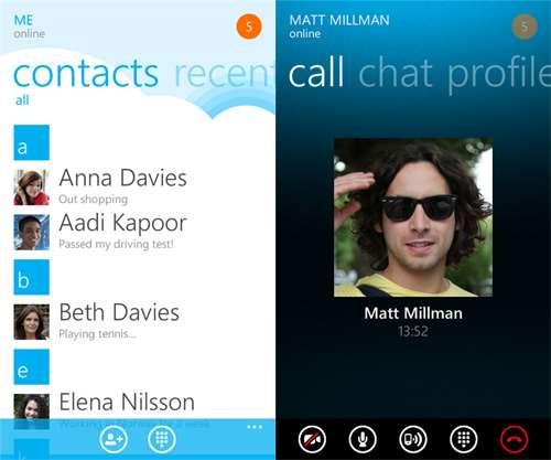 best windows phone apps skype