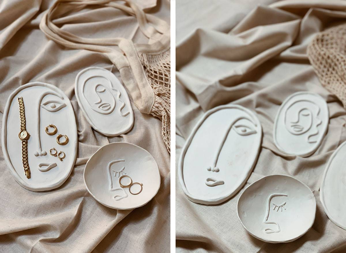 Diy Clay Face Plates Craft Frankie Magazine Australian Fashion Magazine Online