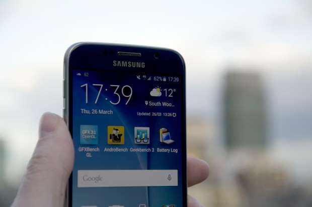 Samsung Galaxy S6 review - screen