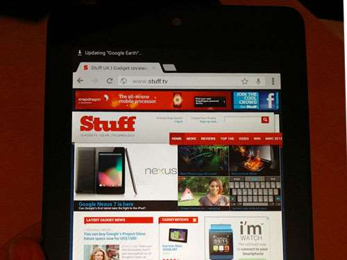 Google Nexus 7 review – hands on