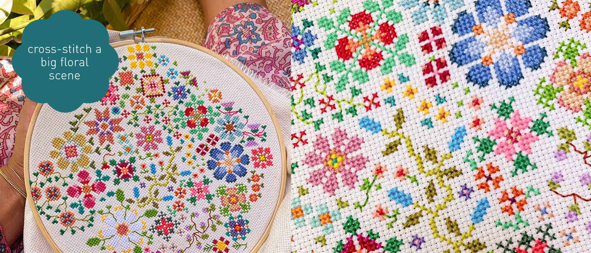 cross stitch home page