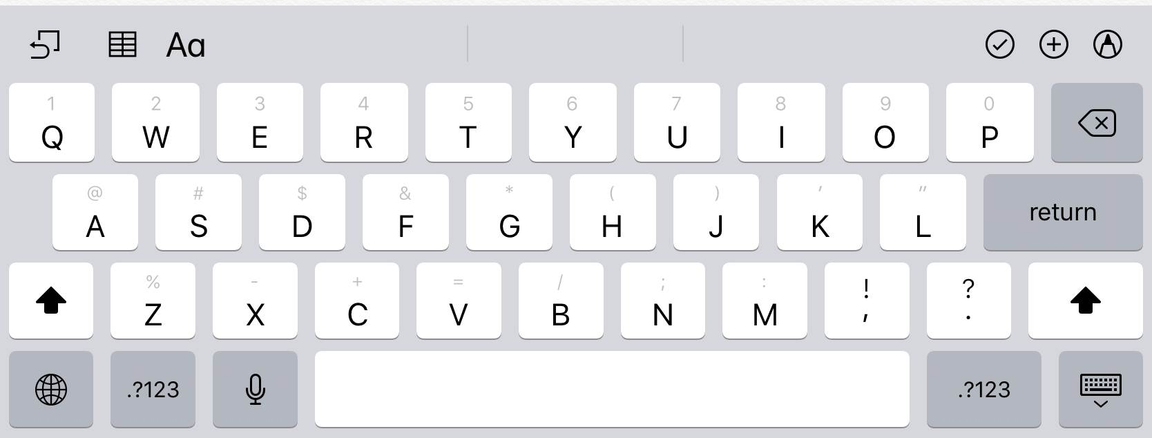Keyboard layout change in iOS annoys users - Software - iTnews