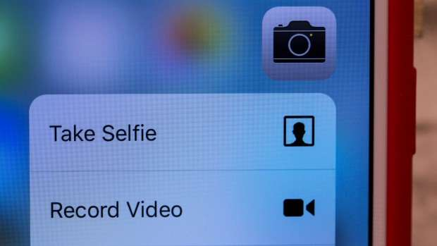 Apple iPhone 6s review: Context sensitive menu in 3D Touch