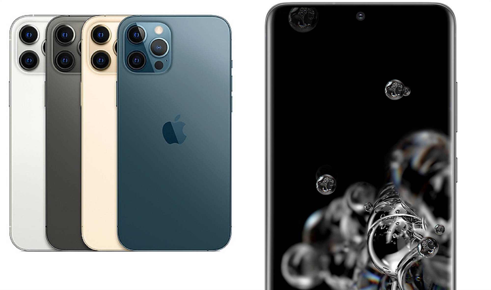 Apple Iphone 12 Pro Max Vs Samsung Galaxy S20 Ultra Head To Head Hardware Crn Australia