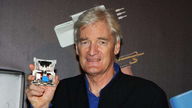 Dyson invests in battery technology maker Sekti3 - James Dyson looking happy