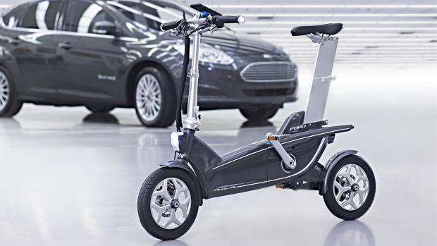 Ford demos smart e-bikes at MWC 2015