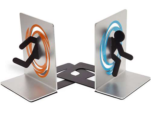 portal bookends kitsch gift guide