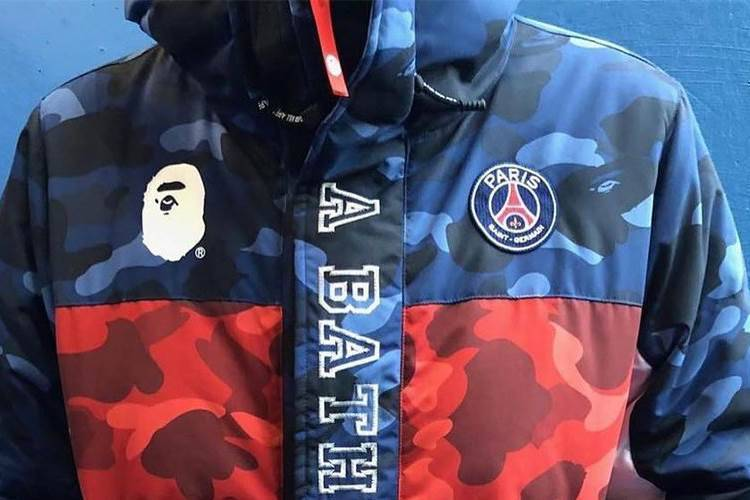 8b50a449 PSG and BAPE announce fashion collaboration - Style - FTBL Life