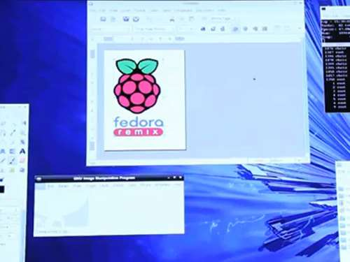 raspberry pi fedora remix