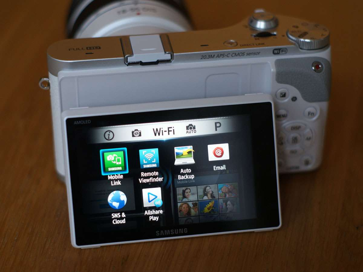 how to connect samsung nx300 to computer