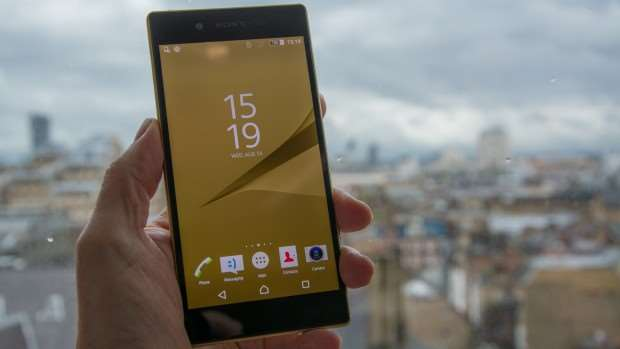 Sony Xperia Z5 review: Main shot, from front