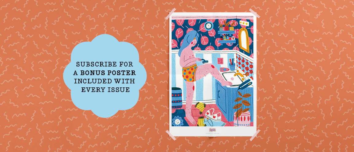 subscribers get a bonus poster with every issue