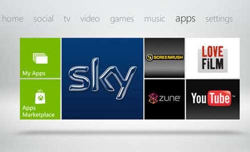 xbox 360 live update dashboard apps