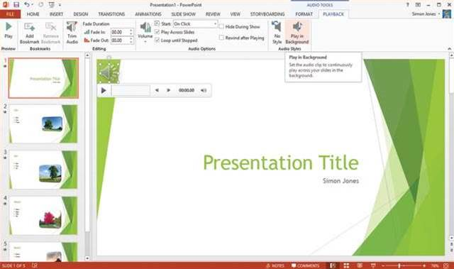 Quick Tip How To Create A Powerpoint Show With Audio