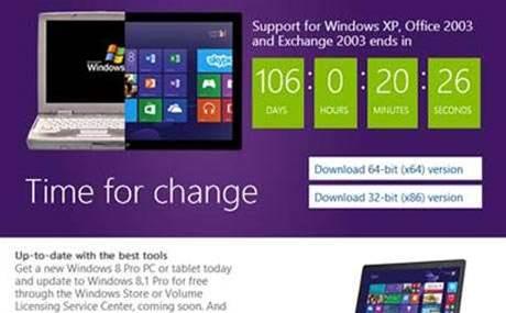 Nine ways Microsoft is scaring Windows XP laggards - Software - CRN