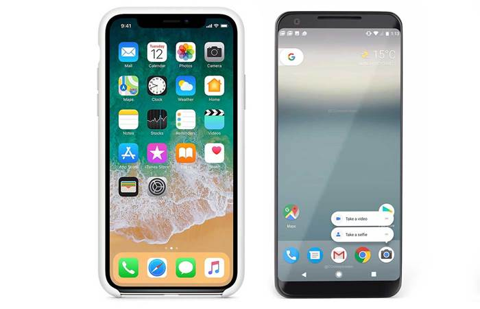 Apple iPhone X vs Google Pixel 2 XL - Hardware - Mobility