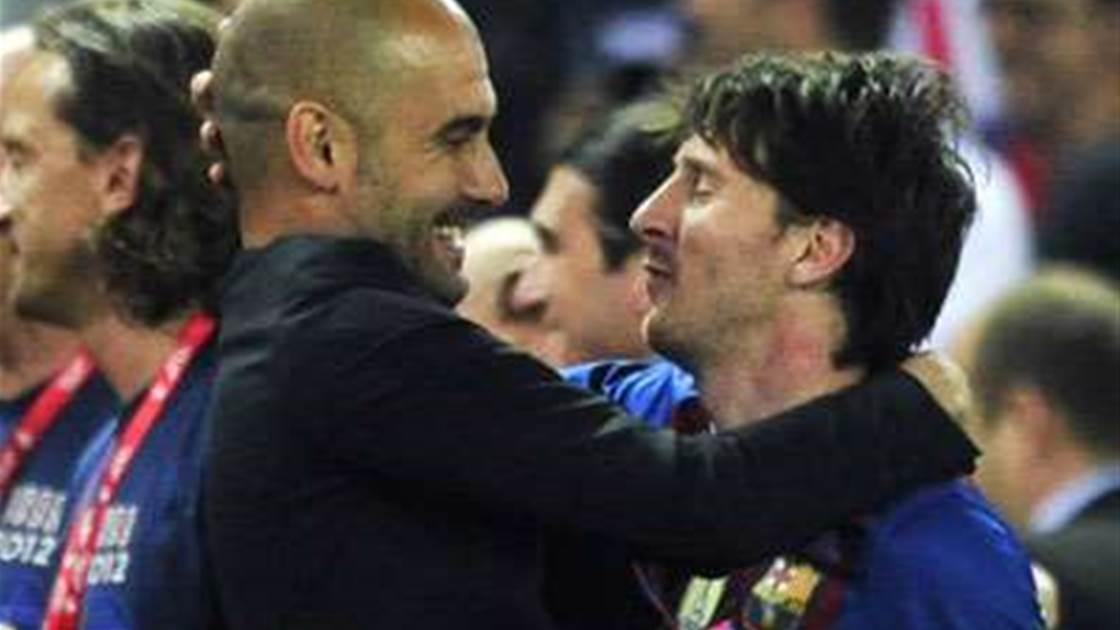 52d71daeb Guardiola Bows Out Praising Messi - FTBL
