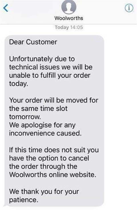 Woolworths Online Ordering Crashes Software Itnews
