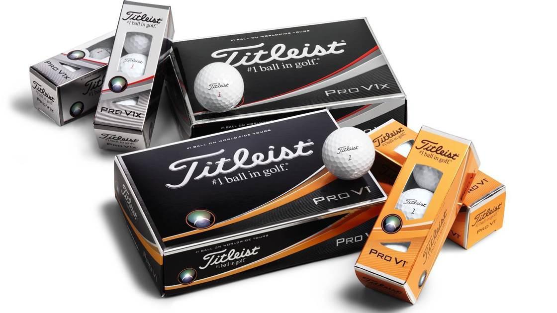 NEW GEAR  Titleist unveils 2017 Pro V1   Pro V1x balls - Golf ... 505829fc73a