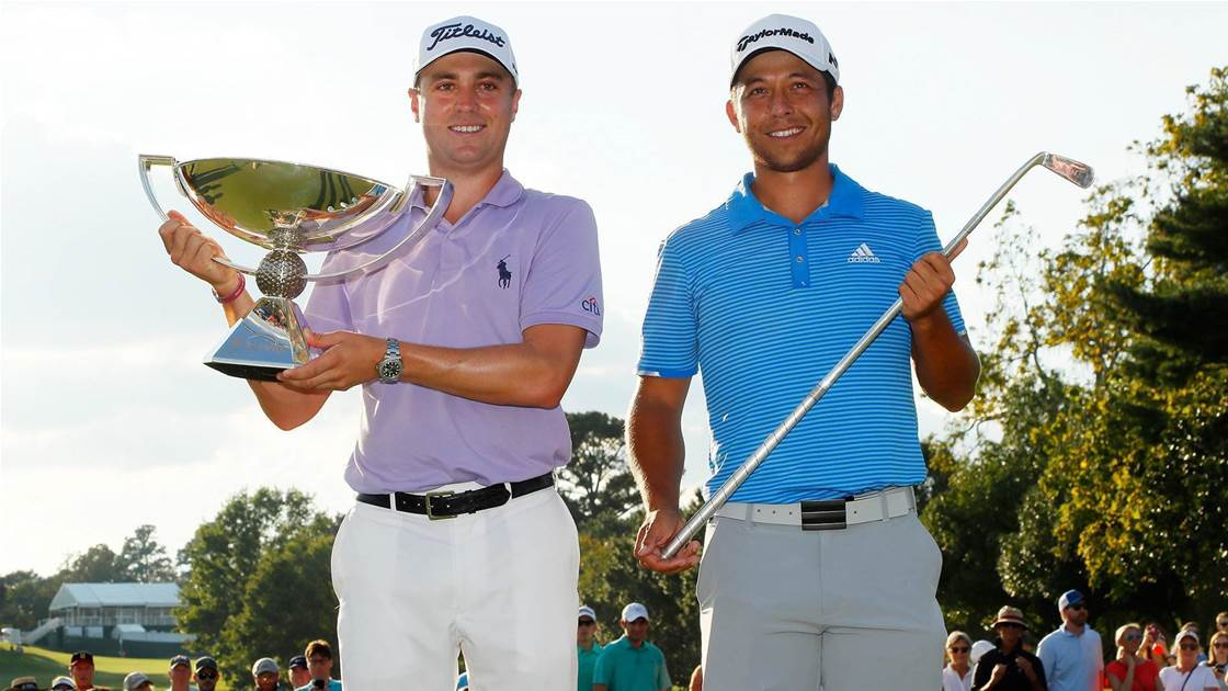 347dd780dd9 PGA TOUR  Thomas cashes in as rookie Schauffele rides his fortune ...