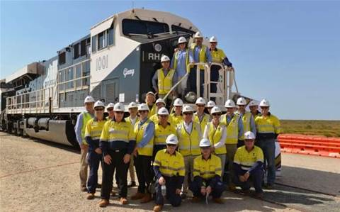 Roy Hill receives first trains destined for automated haulage