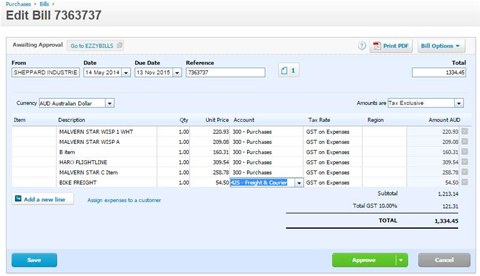 Addon Makes It Easy To Add Bills To Xero Or MYOB Services - Scan invoices into xero