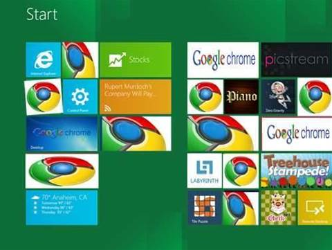 Windows 8 Metro gets Chrome, Firefox support - Software