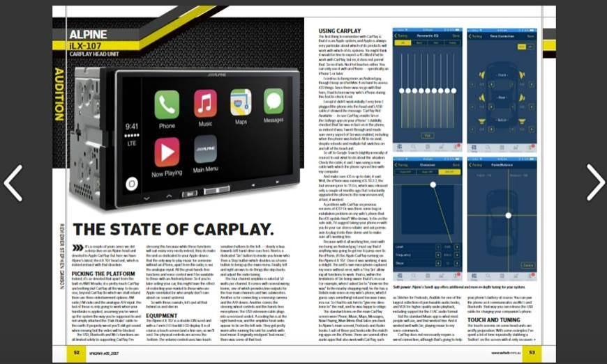 Alpine iLX-107 CarPlay head unit REVIEW