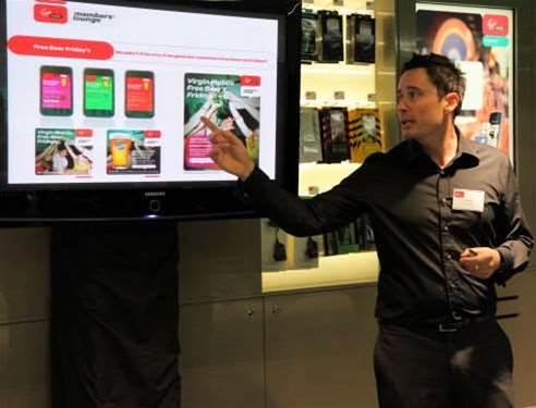 Inside Virgin Mobile's Sydney retail store - iTnews