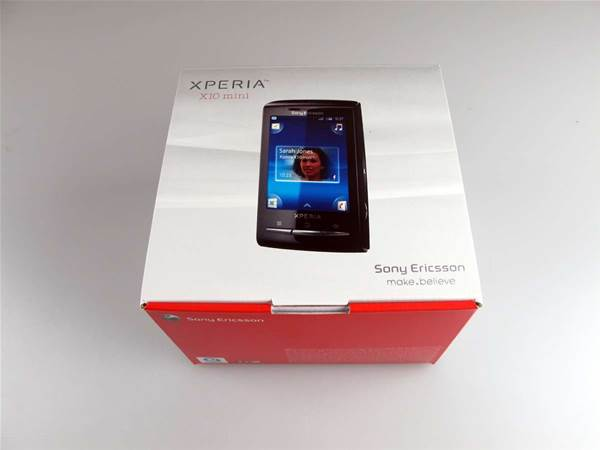 Tiny Android Unboxed Sony Ericsson S Xperia X10 Mini And