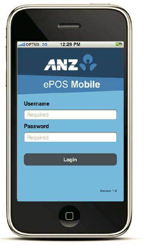 Anz introduces epos for mobile phone payments software hardware anz introduces epos for mobile phone payments reheart Image collections