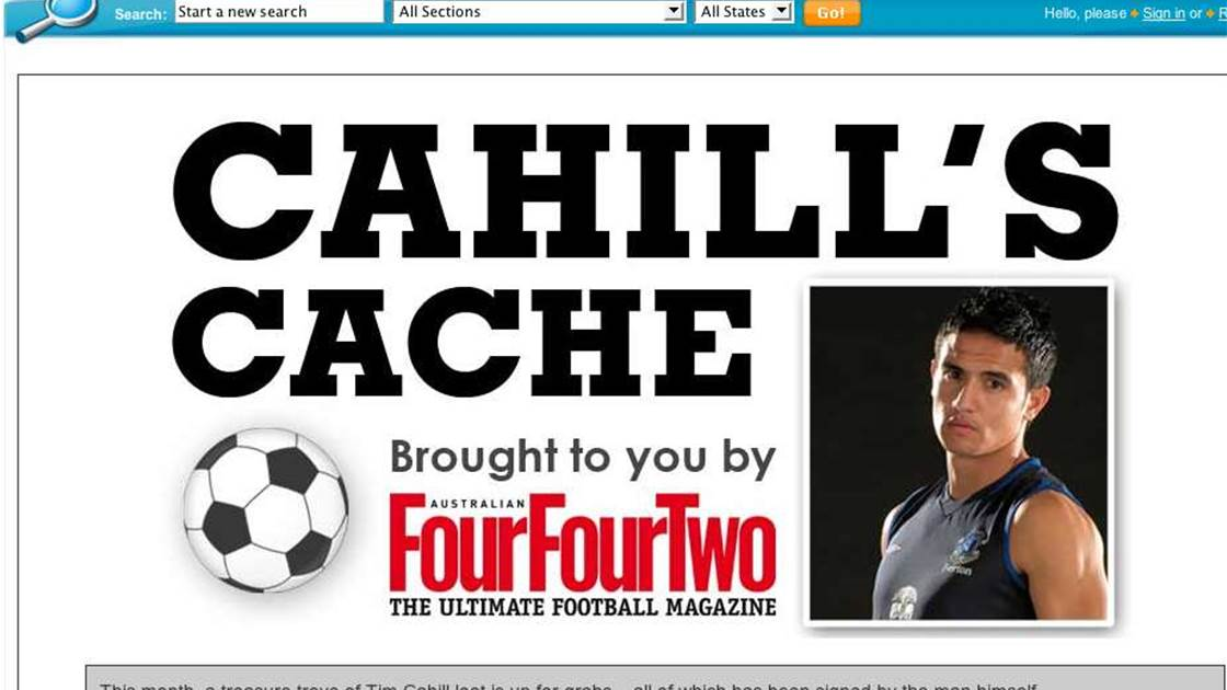 5509cbc9597 Get Signed Tim Cahill Gear - FTBL | The home of football in Australia