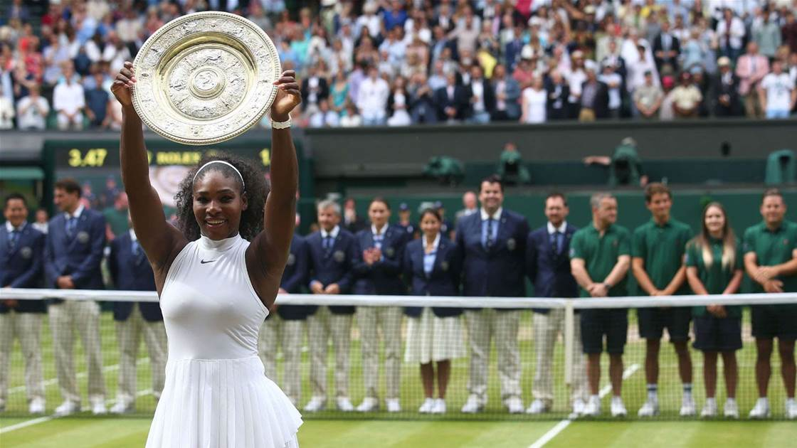 Serena among greatest athletes of all time