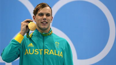 Kyle Chalmers: gold star