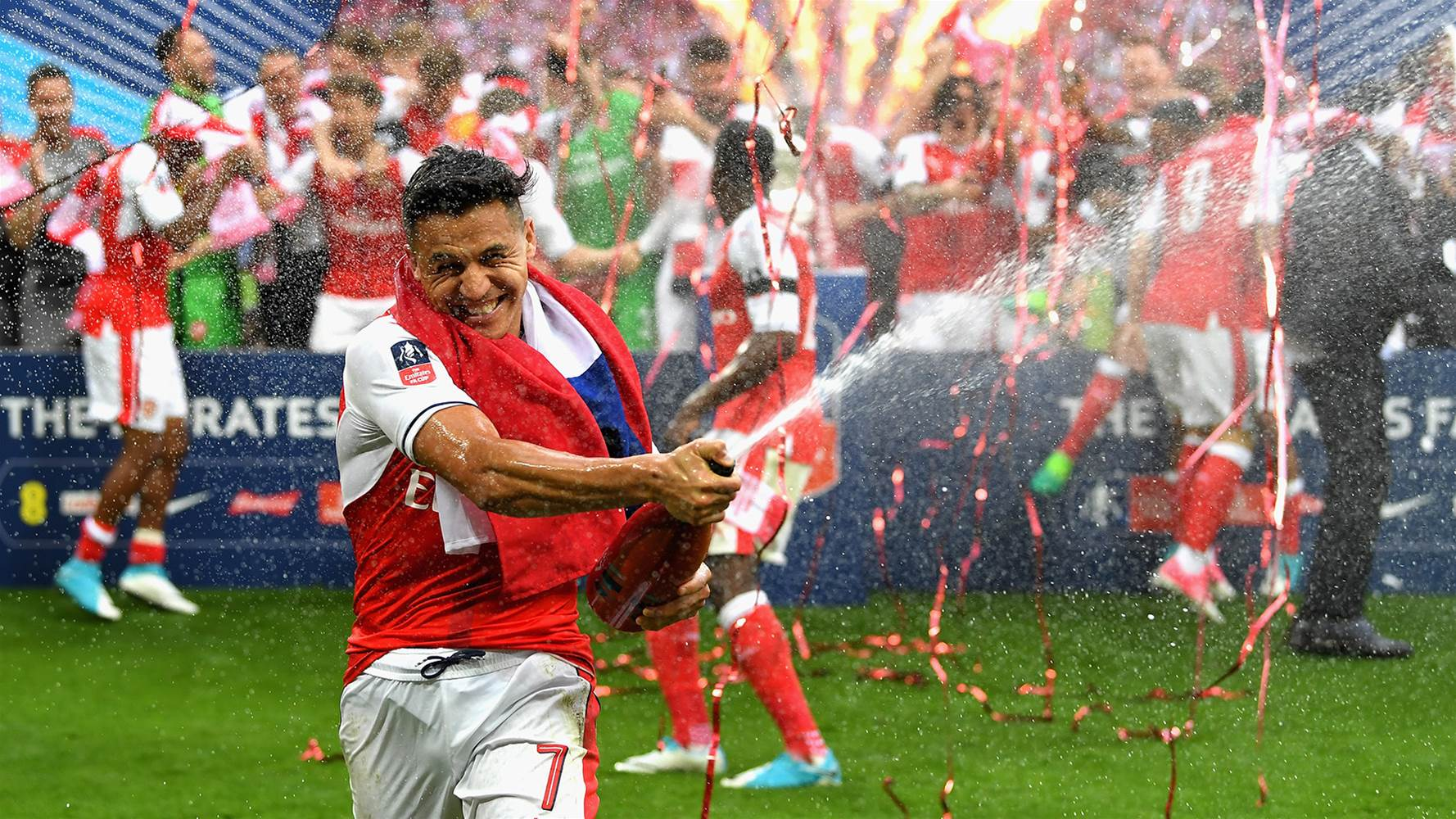 An Arsenal fans' message to Alexis Sanchez