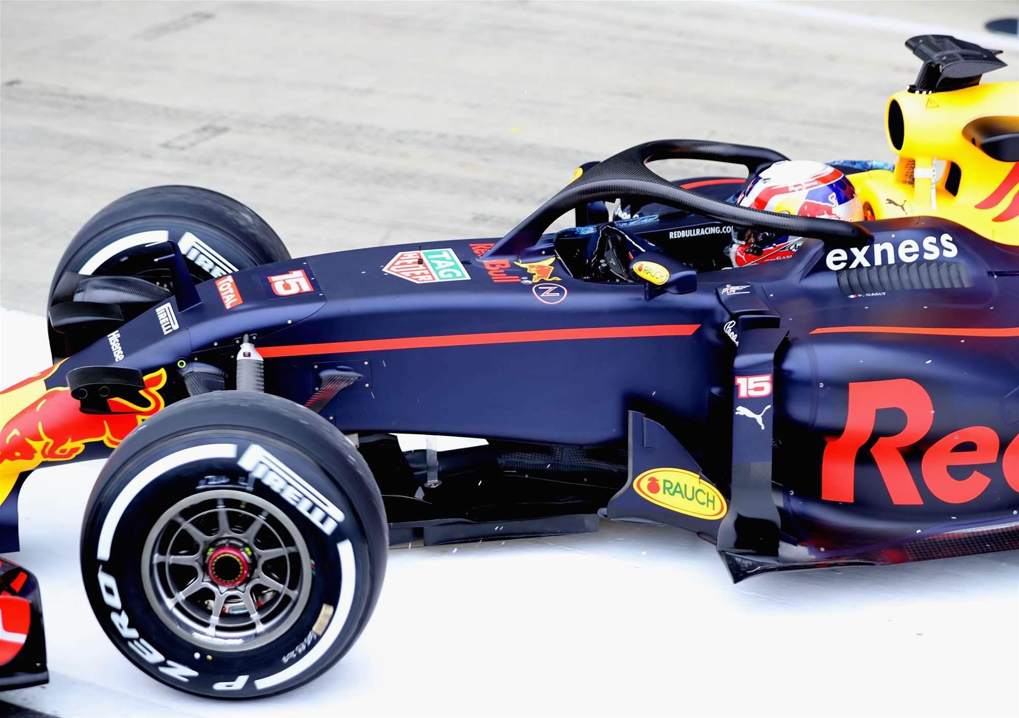 F1 loses its Halo