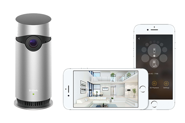 WIN!!! A D-Link Omna security cam!